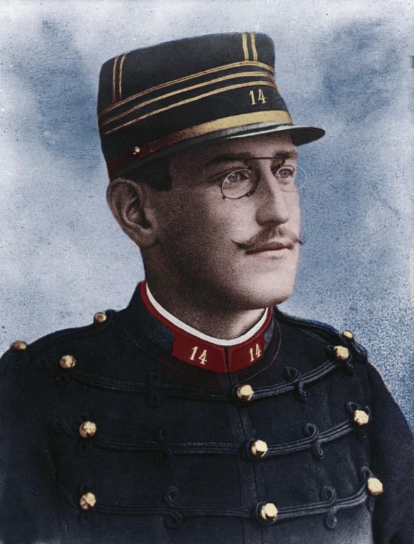 Alfred Dreyfus (1859 bis 1935) Quelle: wikipedia