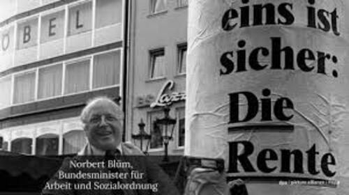 Norbert Blüm (1935 bis 2020)