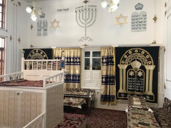 Die Synagoge von Buchara/Usbekistan