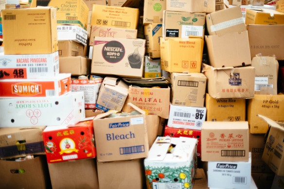 »Verpackungen«, Foto: chuttersnap/unsplash.com
