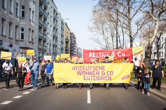 Kein Respekt vor dem Eigentum Foto: Initiative Deutsche Wohnen enteignen