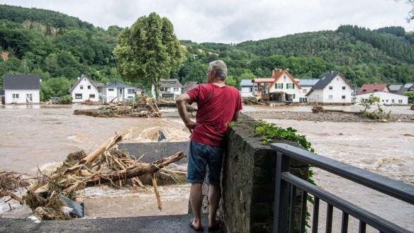 Eifelhochwasser Foto swr