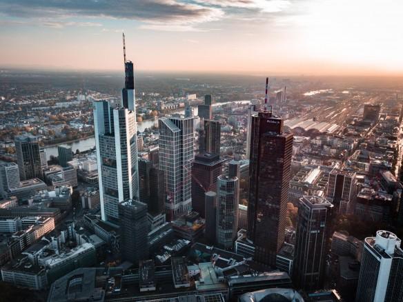 Frankfurt– Stadt der Kreditinstitute