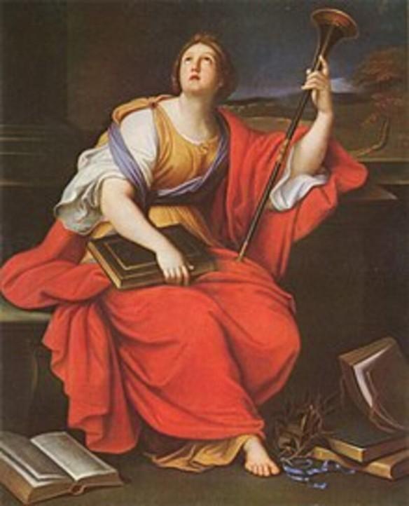 Klio– die Muse der Geschichtsschreibung und des Storytellings Quelle: Wiktionary