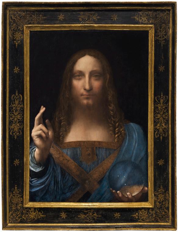 Salvator Mundi– vielleicht von Leonardo da Vinci