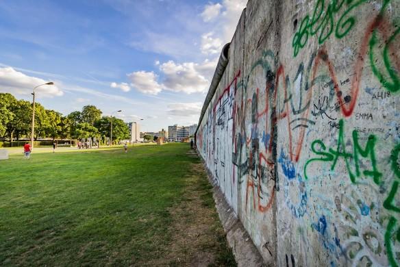 Die Berliner Mauer als Kunstwerk