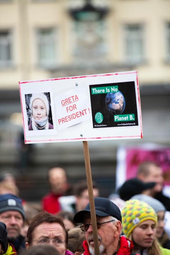 Greta Thunberg ist viel unterwegs