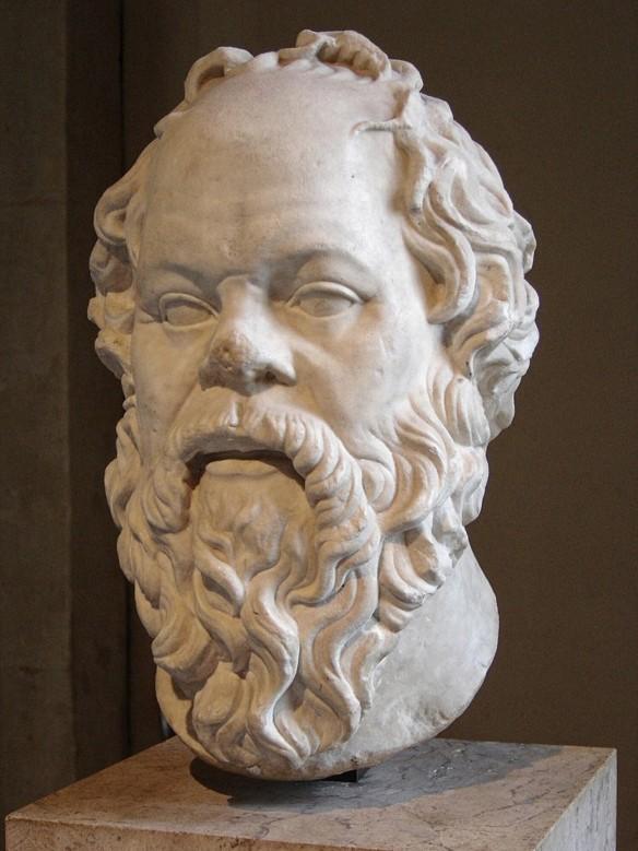 Sokrates, der weise Philosoph Foto: wikipedia