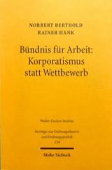 Bündnis für Arbeit · Cover