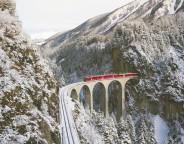 Pünktlich durch die Schweizer Alpen